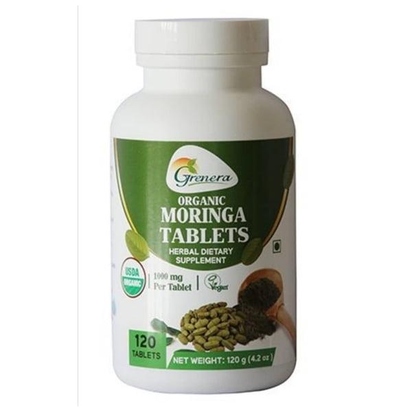 Grenera Moringa Tablets 120 in 1000mg 1