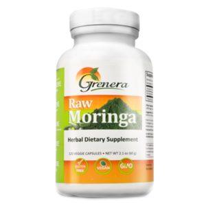 Moringa Leaf Powder Capsule GRENERA