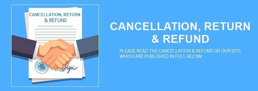 cancellation refund return banner