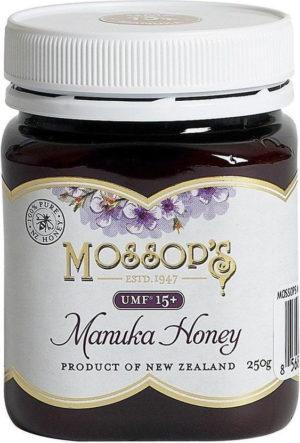 manuka honey umf 15 250g mossop