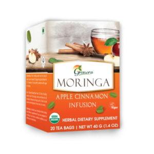 moringa apple cinnamon tea