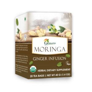 moringa ginge tea